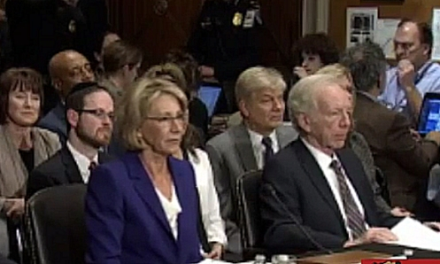 devos-with-lieberman